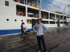 Getting on the Ilala