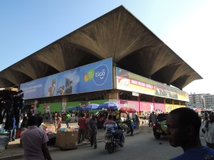 This is a huge two story enclosed market that mainly deals in farming supplies, such as pesticides and hoes.