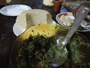 Mboga and Ugali